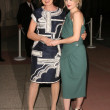Jessica Lange and Drew Barrymore Jessica Langeat Academy of Television Arts and Sciences' 'Inside Grey Gardens'. Leonard H. Goldenson Theatre, North Hollywood, CA. 04-17-09 - 图库照片