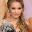 Emily Osment at the Los Angeles Premiere of 'Hannah Montana The Movie'. El Capitan Theatre, Hollywood, CA. 04-02-09 - 图库照片