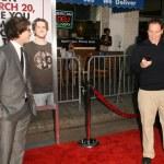 Andy Samberg, Jon Favreau — Stock Photo