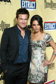 Jason Bateman and Mila Kunis — Stockfoto
