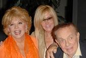 Ruta Lee with Joan Van Ark and Jack Carter — Stock Photo