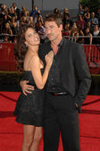 Adriana Lima and Marko Jaric at the 2008 ESPY Awards. Nokia Theatre, Los Angeles, CA. 07-16-08 — Stock Photo