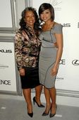 Taraji P. Henson and her mother Bernice at the 2nd Annual Essence Black Women in Hollywood Awards Luncheon. Beverly Hills Hotel, Beverly Hills, CA. 02-19-09 — Stock Photo