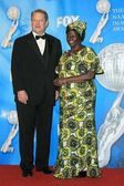 Al Gore, Wangari Muta Maathai — Stock Photo