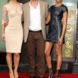 Berenice Marlohe, Javier Bardem, Naomie Harris — Stock Photo