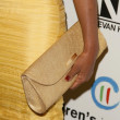 Garcelle Beauvais's purse at 21st Annual Spring Luncheon Presented by Colleagues. Beverly Wilshire Hotel, Beverly Hills, CA. 03-19-09 — Stock Photo #15283701