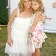 Stock Photo: Cheryl Hines and her daughter Catherine