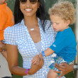 Garcelle Beauvais and son at the 20th Annual A Time For Heroes Celebrity Carnival benefitting Elizabeth Glaser Pediatric AIDS Foundation. Wadsworth Theater, Los Angeles, CA. 06-07-09 — Stock Photo