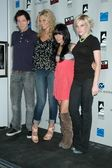 Gaelan Connell and Alyson Michalka with Vanessa Hudgens and Lucy Walsh — Stock fotografie