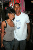 Denyce Lawton and Wesley Jonathan — Stock Photo