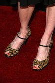Darby Stanchfield's shoes — Stock Photo