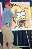 Dan Castellaneta at the ceremony dedicating US Postal Stamps to the Television Show 'The Simpsons'. Twentieth Century Fox, Los Angeles, CA. 05-07-09 — Stock Photo