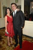 Kristin Davis and Chris Noth — Stock Photo