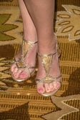 Virginia Madsen's shoesat the 21st Annual Spring Luncheon Presented by The Colleagues. Beverly Wilshire Hotel, Beverly Hills, CA. 03-19-09 — Stock Photo