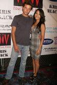 Kirk Jenkins and Chantelle Barry — Stock Photo
