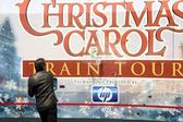 Jim Carrey at the 'Disney's A Christmas Carol' Train Tour Kick Off. Union Station, Los Angeles, CA. 05-21-09 — Stock Photo