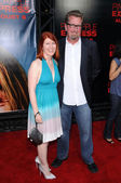 Kate Flannery and Chris Haston — Stock Photo