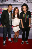 Jon Chu with Briana Evigan and Adam G. Sevani — Stock Photo