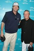 Kevin Sorbo and Gary Player at the Callaway Golf Foundation Challenge Benefiting Entertainment Industry Foundation Cancer Research Programs. Riviera Country Club, Pacific Palisades, CA. 02-02-09 — Stock Photo