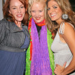 Jenny McShane, Sally Kirkland and Bridgetta Tomarchio  at an AMA Gifting Suite by ShoeDazzle.com, Gibson Guitars, Beverly Hills, CA 11-21-08 - Stock Photo