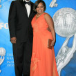 James Pickens Jr. and Chandra Wilson in the press room at the 40th NAACP Image Awards. Shrine Auditorium, Los Angeles, CA. 02-12-09 - Stock Photo