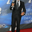 Stock Photo: Hill Harper in press room at 40th NAACP Image Awards. Shrine Auditorium, Los Angeles, CA. 02-12-09
