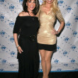 Kate Linder and Agnes-Nicole Winter at the Los Angeles Premiere of The Gold and the Beautiful. Raleigh Studios, Hollywood, CA. 02-28-09 - 图库照片