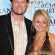 Blake Shelton, Miranda Lambert — Stock Photo