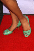 Shanica Knowles's shoes — Stock Photo