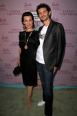 Debi Mazar and husband Gabriele — Stock Photo