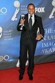 Hill Harper in the press room at the 40th NAACP Image Awards. Shrine Auditorium, Los Angeles, CA. 02-12-09 — Stock Photo