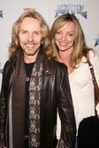 Tommy Shaw and wife Jeanne — Stock Photo