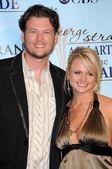 Blake Shelton,  Miranda Lambert — Stock Photo