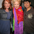 Stock Photo: Jenny McShane, Sally Kirkland and Paul Cruz