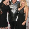 Joanie Laurer with Denis Hof and Vicky Vette — Stock Photo