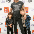 Foto Stock: Slash and his sons
