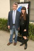 Dermot Mulroney and Debra Messing — Foto de Stock