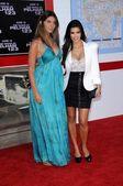 Brittny Gastineau and Kimberly Kardashian — Stock Photo