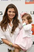 Ali Landry and daughter Estela at the Third Annual Kidstock Music and Arts Festival. Greystone Mansion, Beverly Hills, CA. 05-31-09 — Stock Photo