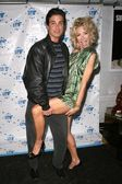 Tyrone Power Jr and Carla Collins — Stock Photo