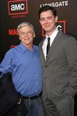 Robert Morris and Colin Hanks — Stock Photo