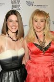 Kirsten Vangsness and Fiancee Melanie Goldstein — Stock Photo