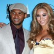 Постер, плакат: Usher and Beyonce Knowles