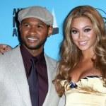 Постер, плакат: Usher and Beyonce Knowles