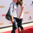 Emily Osment and Miley Cyrus at the 2007 Power of Youth Benefiting St. Jude. The Globe Theatre, Universal City, CA. 10-06-07 — Stock Photo #15905659