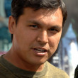 Adam Beach at World Premiere of Incredible Hulk. Gibson Amphitheatre, Universal Studios, Universal City, CA. 06-08-08 — стоковое фото #15905871
