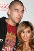 Robert Kardashian Jr. and Adrienne Bailon — Stockfoto