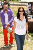 David arquette und courteney cox — Stockfoto