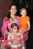 Joely Fisher with daughters Skylar and True — Stock Photo