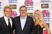 Spencer Pratt, Greg Creed and Heidi Montag — Stock Photo